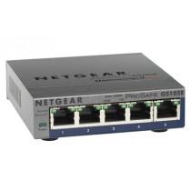 Switch Netgear 5 port Gigabit PoE, GS105PE-10000S, 5x GbE, 2x PoE GbE, 24mj