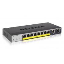 Switch Netgear, GS110TPP-100EUS, 8x GbE, 8x PoE GbE