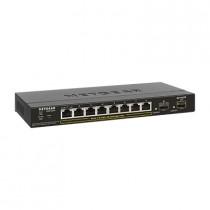 Switch Netgear, GS310TP-100EUS, 8x GbE, 8x PoE GbE, 2x SFP, 24mj