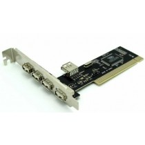 Kontroler USB 2.0, PCI, 4x externi., 1x interni port