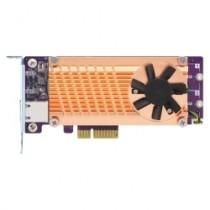Kontroler QNAP QM2 Expansion Card, 2x SATA M.2 SSD + 10GbE RJ45, SATA, PCIe x4, 12mj, (QM2-2S10G1TA)