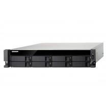 NAS QNAP TS-853BU-4G,  max. 8x disk, LAN 4x, Rack 2U, 24mj