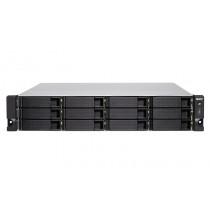NAS QNAP TVS-1272XU-RP-I3-4G,  max. 12x disk, LAN 4x, SFP+ 2x, Rack 2U, 24mj