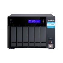 NAS QNAP TVS-672N-I3-4G,  max. 6x disk, LAN 3x, Tower, 36mj