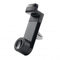 "Nosač za Smartphone, Ventilacijska rešetka, Qoltec 51200, 3.5-6.3"", crna, 12mj"