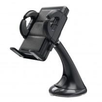 """Nosač za Smartphone, Staklo, Qoltec 51202, 3.5-6.3"""", crna, 12mj"""