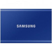 SSD externi Samsung 1TB indigo plava, Portable SSD, T7, MU-PC1T0H/WW, M2, USB3.2 Gen 2, 36mj