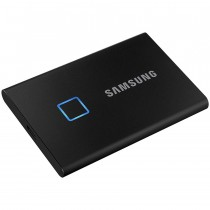 SSD externi Samsung 2TB crna, Portable SSD, T7, MU-PC2T0K/WW, M2, USB3.2 Gen 2, 36mj