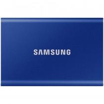 SSD externi Samsung 500GB indigo plava, Portable SSD, T7, MU-PC500H/WW, M2, USB3.2 Gen 2, 36mj
