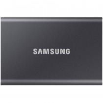 SSD externi Samsung 500GB siva, Portable SSD, T7, MU-PC500T/WW, M2, USB3.2 Gen 2, 36mj