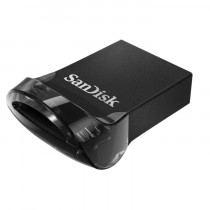 USB Memory 128GB crna, SanDisk Ultra Fit, SDCZ430-128G-G46, USB stick, USB3.1, 24mj