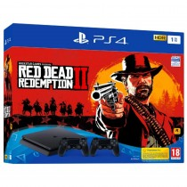 Sony PlayStation 4 Slim 1TB + Red Dead Redemption 2 + 2nd controller (9759010)