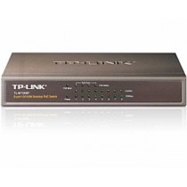 TP-Link Switch TL-SF1008P 8-port Desktop Switch, 8×10/100M RJ45 ports + 4 PoE ports, Steel case