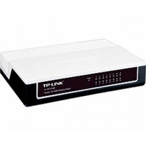 TP-Link Switch TL-SF1016D 16-port Unmanaged Desktop Switch, 16×10/100M RJ45 ports, Plastic case