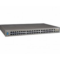 TP-Link Switch TL-SL3452 48-port+4G Gigabit-Uplink Managed Switch, 48×10/100M RJ45/2×10/100/1000M RJ45 ports, 2 SFP expansion slots supporting MiniGBIC modules, Web-based and SNMP management