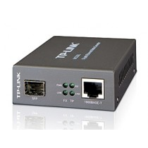 TP-Link MC220L Gigabit Fiber Converter, SFP, RJ45