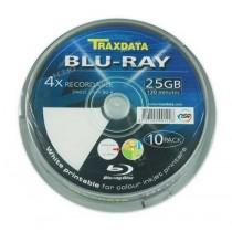 BD-R TRAXDATA BLU RAY 25GB 4X PRINTABLE CAKE 10 (90L753ITRA006)