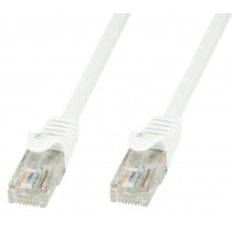 Patch kabel UTP 0.5m, Cat6, AWG24, Bakar, TechlyPro 029389, bijela