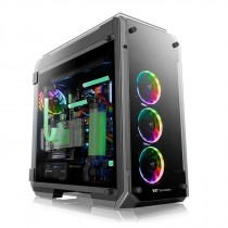 Kućište Thermaltake View 71 Tempered Glass RGB Plus Edition, crna, E-ATX, 24mj (CA-1I7-00F1WN-02)