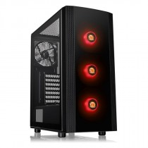 Kućište Thermaltake Versa J25 Tempered Glass RGB Edition, crna, ATX, 24mj (CA-1L8-00M1WN-01)