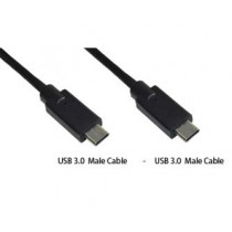 USB kabel type C to USB 3.0 type C, transfer and charge 1.0m (MLU686NK)