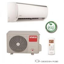 Klima Vivax ACP-12CH35AEQI R32s, inverter, hlađenje: 3.52kW, grijanje: 3.81kW, split, zidni, vanjska+unutarnja
