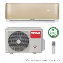 Klima Vivax ACP-12CH35AERI GOLD R32+WiFi, inverter, hlađenje: 3.52kW, grijanje: 3.81kW, split, zidni, vanjska+unutarnja
