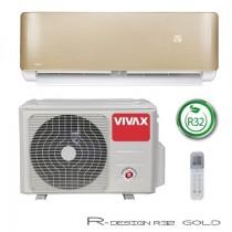 Klima Vivax ACP-12CH35AERI R32 GOLD, inverter, hlađenje: 3.52kW, grijanje: 3.81kW, split, zidni, vanjska+unutarnja