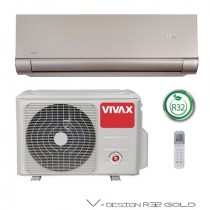 Klima Vivax ACP-12CH35AEVI R32 GOLD + WiFi, inverter, hlađenje: 3.52kW, grijanje: 3.81kW, split, zidni, vanjska+unutarnja