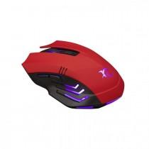 Miš White Shark HANNIBAL-2, Optički, USB, crvena, 24mj