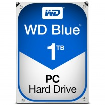 "HDD WD 1TB, Desktop Blue, WD10EZRZ, 3.5"", SATA3, 5400RPM, 64MB, 24mj"
