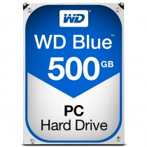 "HDD WD 500GB, Desktop Blue, WD5000AZLX, 3.5"", SATA3, 7200RPM, 32MB, 24mj"