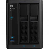 NAS WD My Cloud PR2100,  max. 2x disk, 2x 10TB, LAN 1x, SFF, 24mj (WDBBCL0200JBK-EESN)