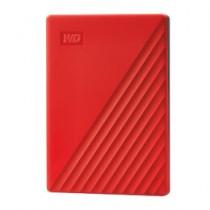 """HDD ext WD 4TB crvena, My Passport, WDBPKJ0040BRD-WESN, 2.5"""", USB3.2 Gen 1, 24mj"""