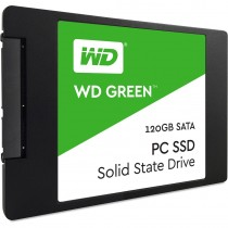 "SSD WD 120GB, Green, WDS120G2G0A, 2.5"", SATA3, 36mj"