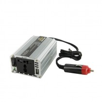 UPS Inverter Whitenerty 200VA, Power Inverter DC 12V->230V AC 200W, 200W, srebrna, 24mj, (06577)