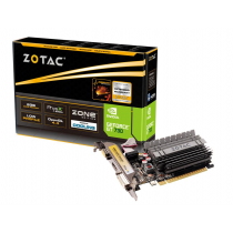 VGA Zotac GT 730 Zone Edition, nVidia GeForce GT 730 D3/64, 2GB, do 954MHz, Pasivno hlađenje, Low-profile, 24mj (ZT-71113-20L)