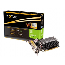 VGA Zotac GT 730 Zone Edition, nVidia GeForce GT 730 D3/64, 4GB, do 954MHz, Pasivno hlađenje, Low-profile, 24mj (ZT-71115-20L)
