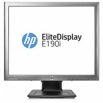 "Monitor HP 18.9"" EliteDisplay, E190i, 1280x1024 mat, LCD LED, IPS, 8ms, 178/178º, VGA, DVI-D, DP, USB2.0 2x, Lift, Pivot, crna, 36mj, (E4U30AA)"