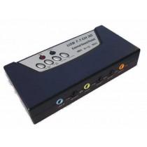 Zvučna kartica C-Media, 8-kanala, USB (N-US8CH)