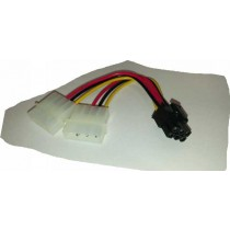 Adapter VGA power 6pin-2x molex