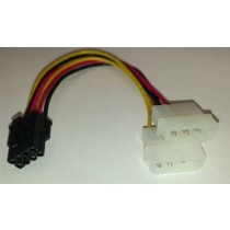 Adapter VGA power 8pin-2x molex