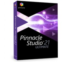 Corel Pinnacle Studio 21 Ultimate, ML, Retail, 1 Usr, Trajna, WIN, DVD, PNST21ULMLEU
