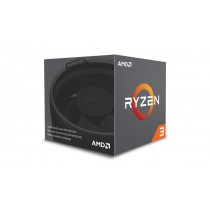 CPU AMD Ryzen 3-1200 (3.1GHz do 3.4GHz, 10MB (2MB+8MB), C/T: 4/4, AM4, cooler, 65W), 36mj