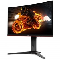 "Monitor AOC 24"", C24G1, 1920x1080, LCD LED, VA, zakrivljen, 1ms, 178/178o, VGA, HDMI 2x, DP, Lift, crna, Freesync, 36mj"