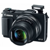 Canon PowerShot G1 X Mark II, crna, 12.8Mpx, 5x opt. 24-120mm f2-3.9 LCD, WL, 12mj