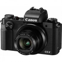 Canon PowerShot G5 X, crna, 20.2Mpx, 4.2x opt. 24-100mm f1.8-2.8, WL, 12mj