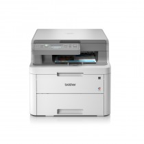 Brother DCP-L3510CDW, DCPL3510CDWYJ1, print, scan, copy, duplex, laser, color, A4, USB, WL, 4-bojni, bijela, 24mj