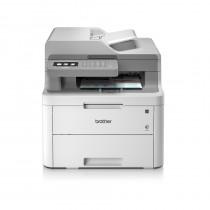 Brother DCP-L3550CDW, DCPL3550CDWYJ1, print, scan, copy, ADF, duplex, laser, color, A4, USB, LAN, WL, 4-bojni, bijela, siva, 24mj
