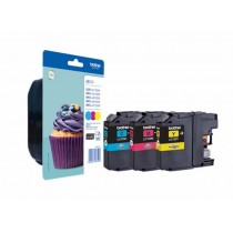 Tinta Brother LC-123 CMY komplet LC123RBWBPDR za DCP-J4110DW - MFC-J4410DW - MFC-J4510DW - MFC-J4610DW